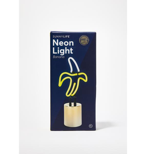 Gone Bananas Neon Light