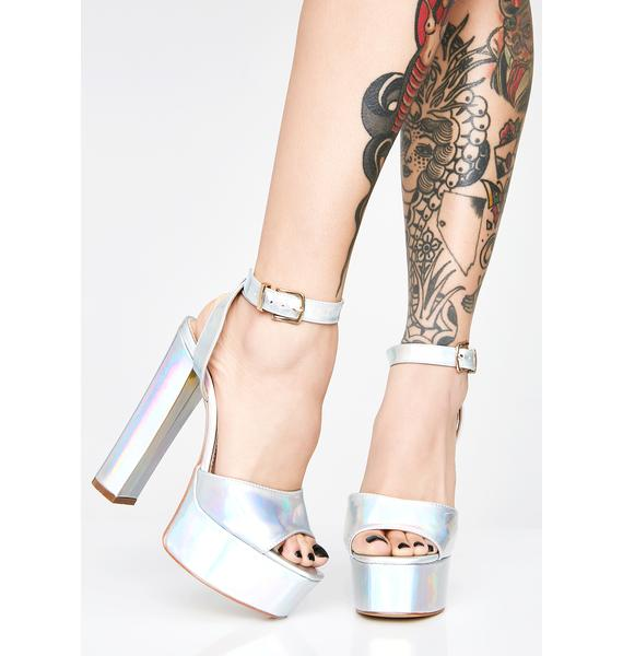 Dangerous Habit Hologram Heels
