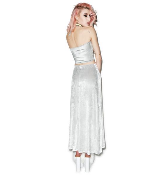 American Deadstock Velvet Underground Maxi Skirt