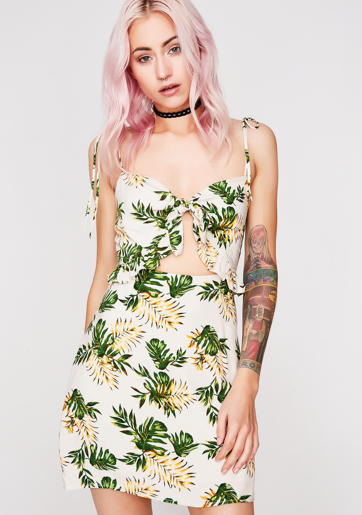Fine As Pine Sundress