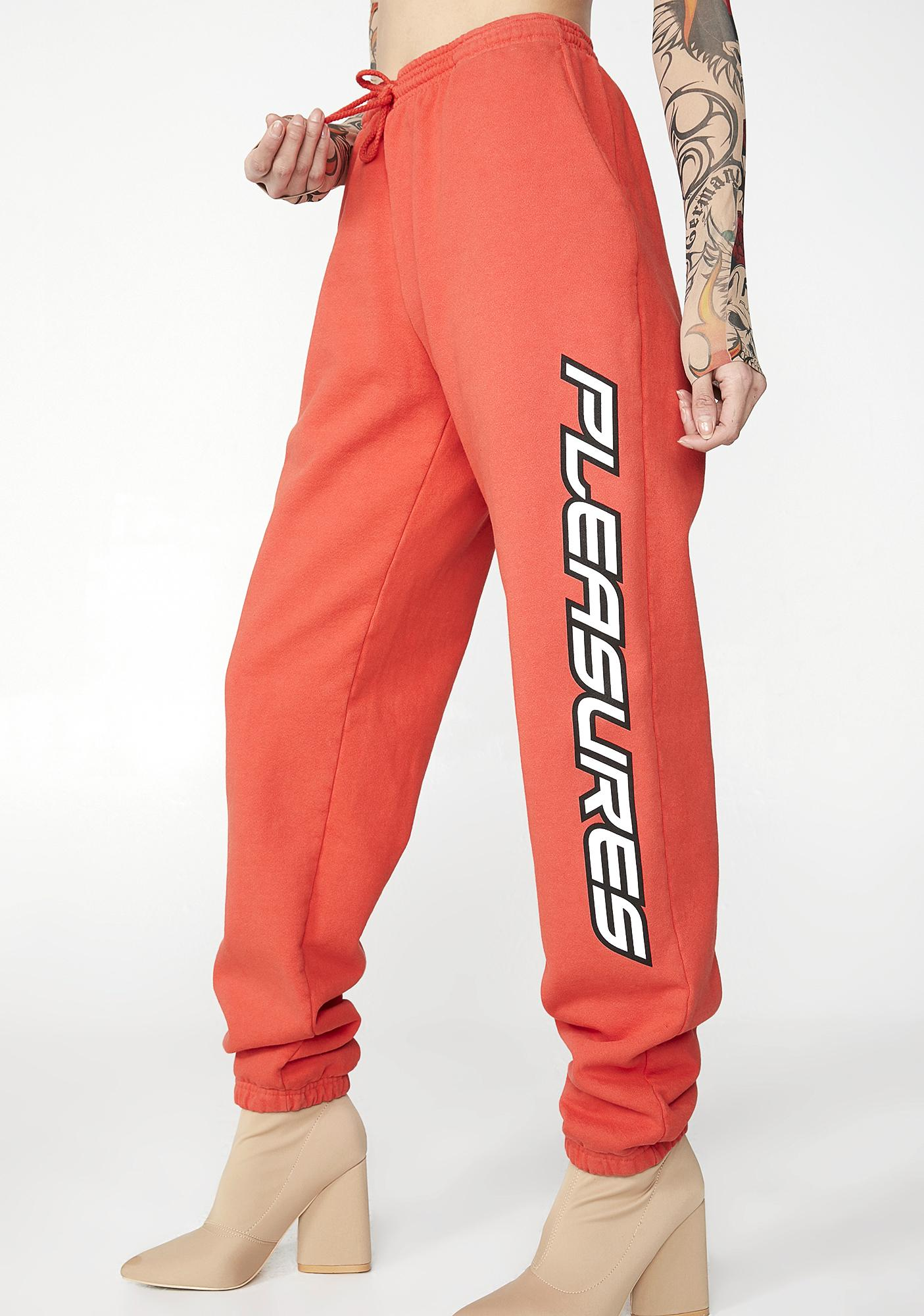 Pleasures Laser Logo Sweatpants