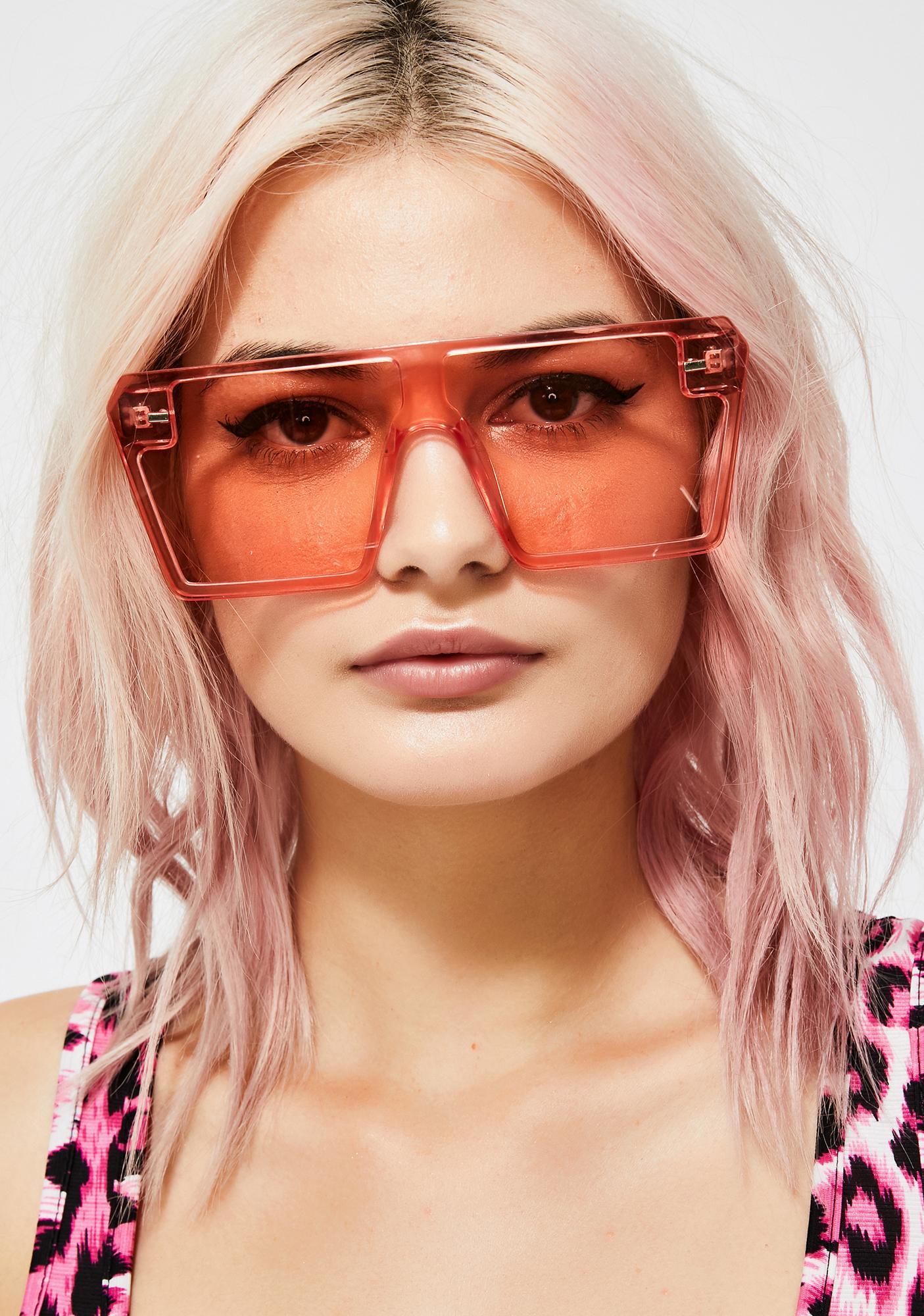 Candy Livin' Good Oversized Sunglasses