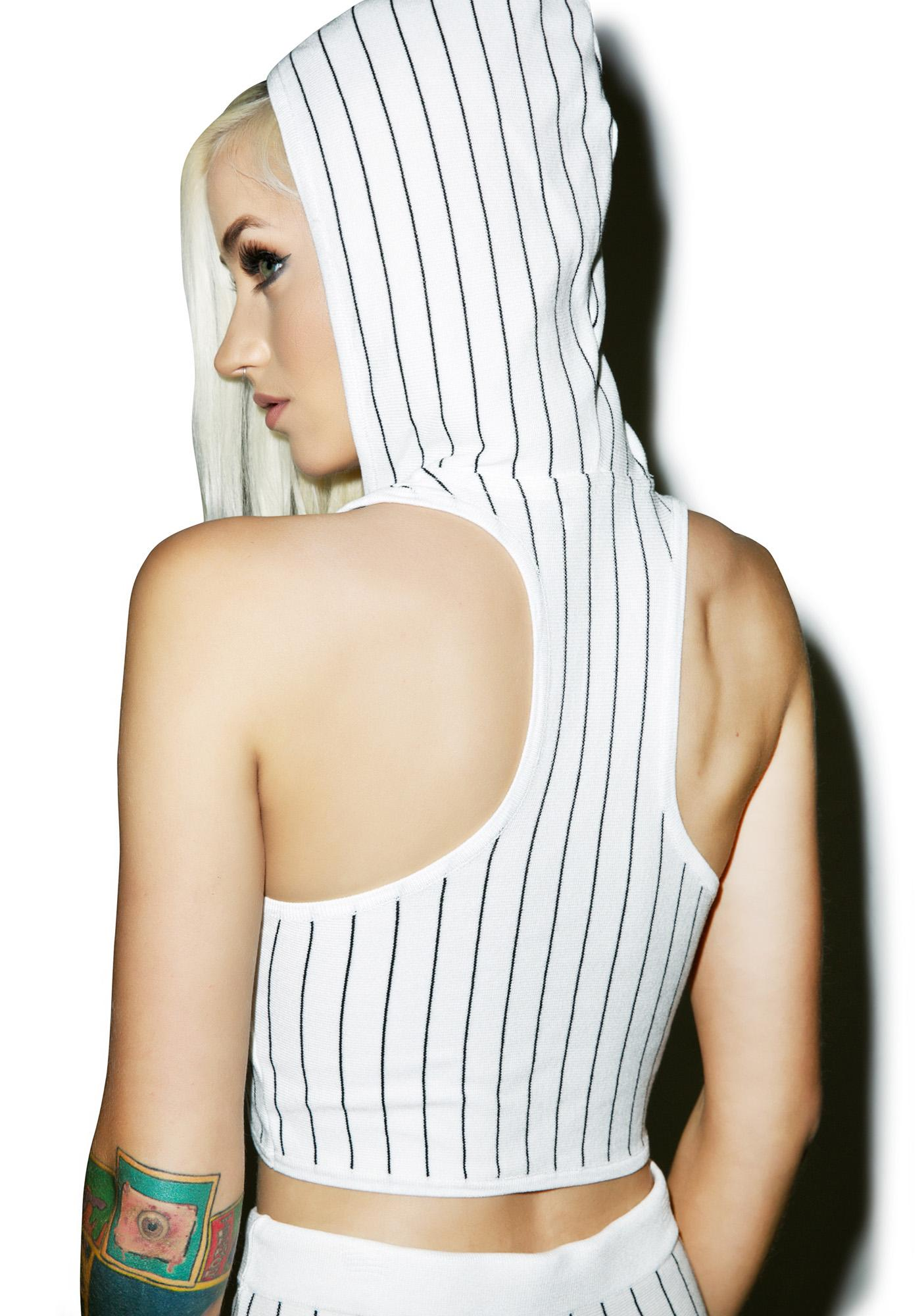Brooke Hooded Crop Top
