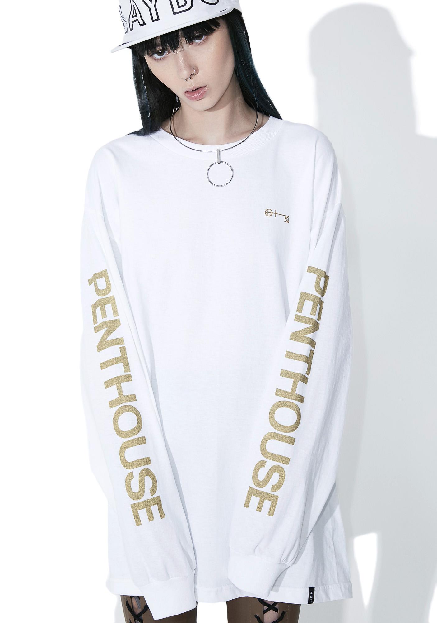 HUF Pure Penthouse Long Sleeve Tee