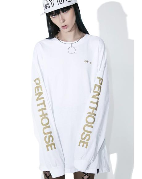 Pure Penthouse Long Sleeve Tee