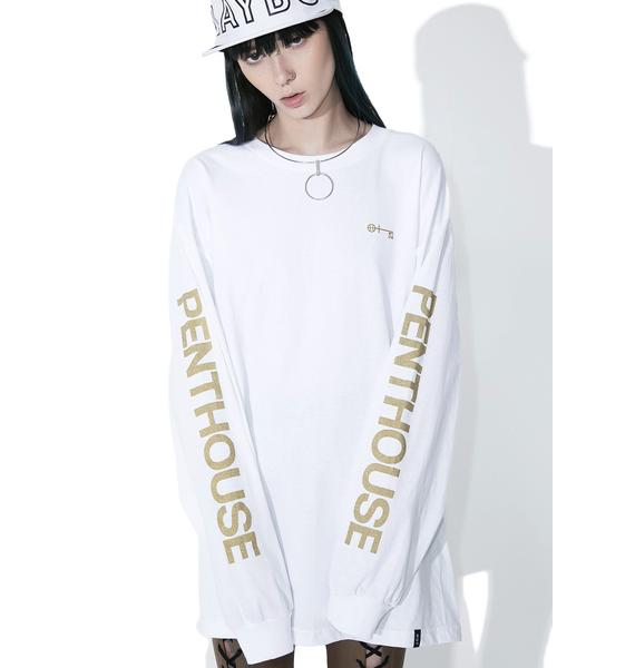 HUF Pure Penthouse Long Sleeve Tee