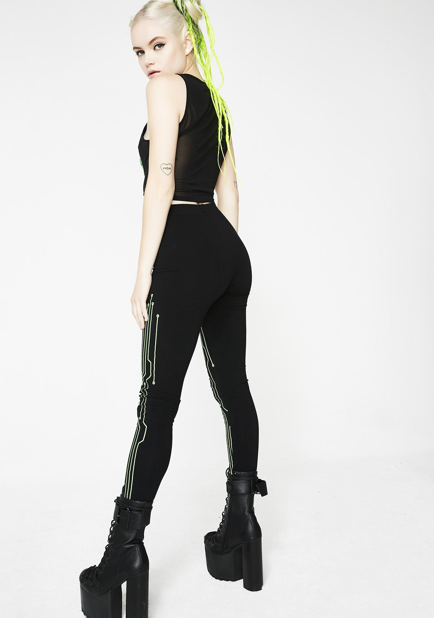 Cyberdog Body Circuit Leggings