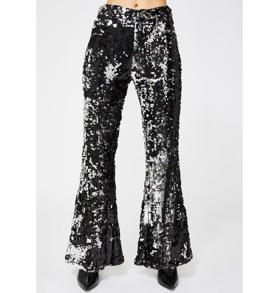 Show Stoppin' Sequin Flares