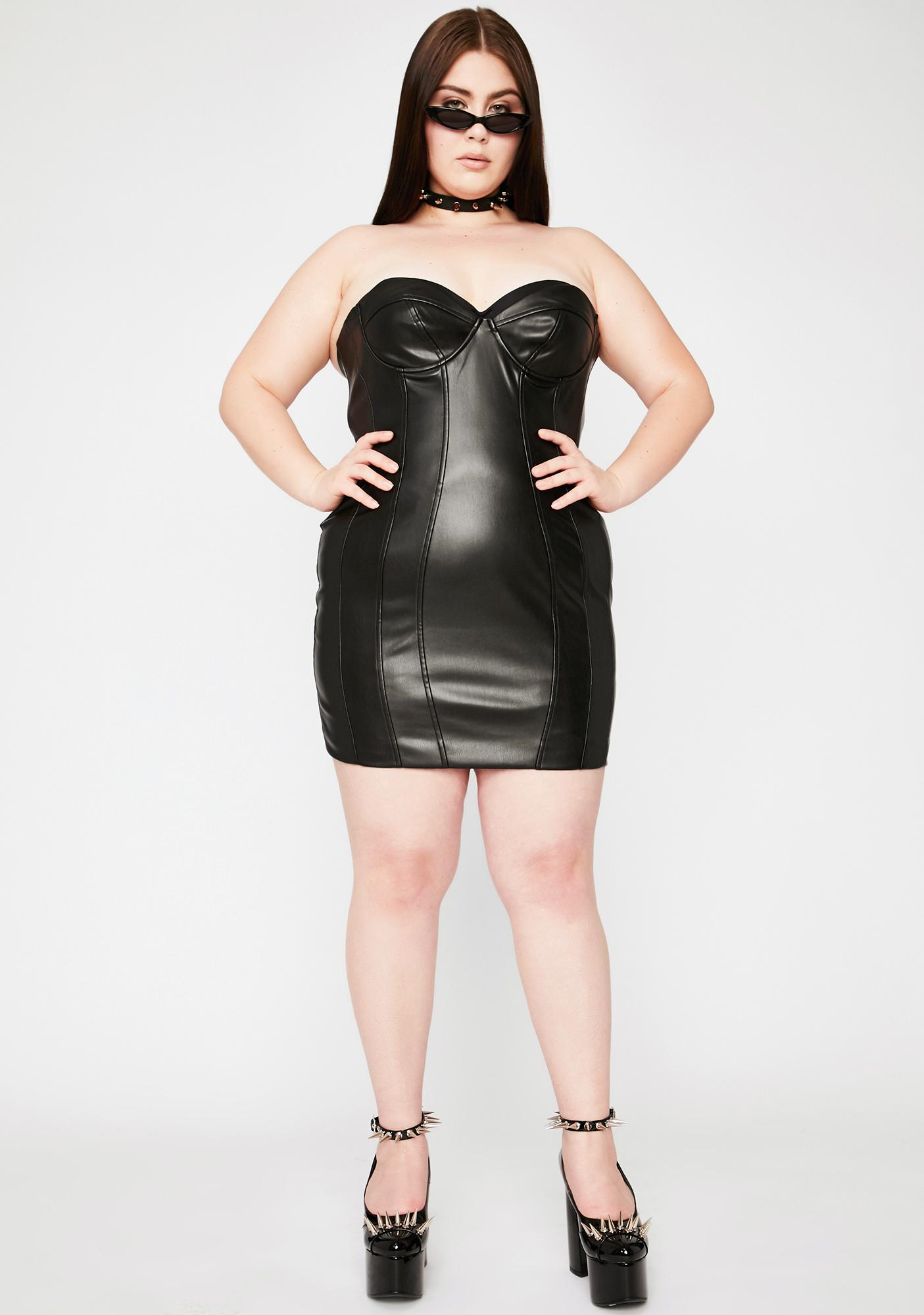 Coal Better Buy Me Somethin' Bodycon Dress