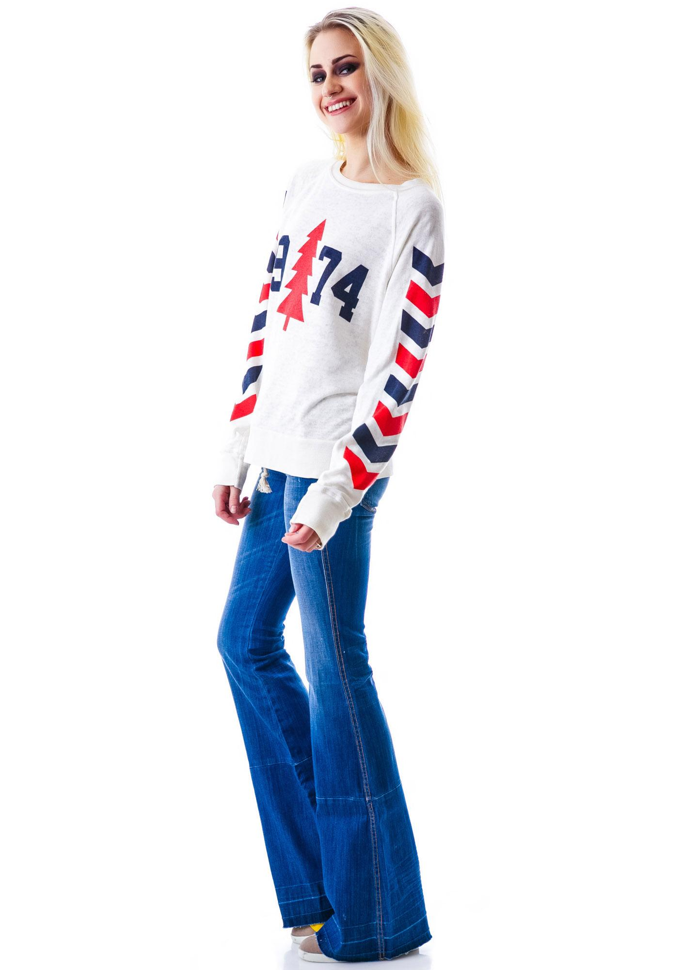 Wildfox Couture 1974 Nantucket Jumper