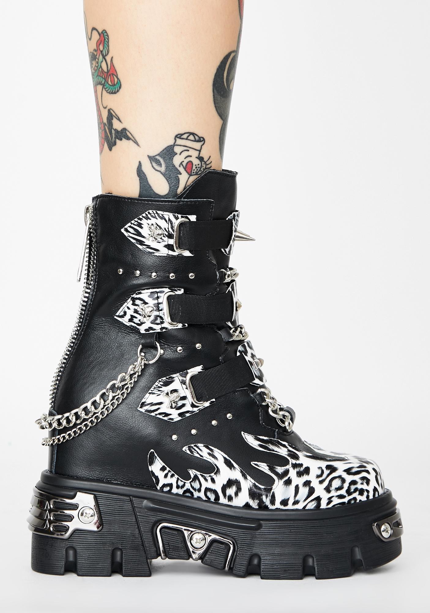 Savage Delinquent Dreamz Platform Boots