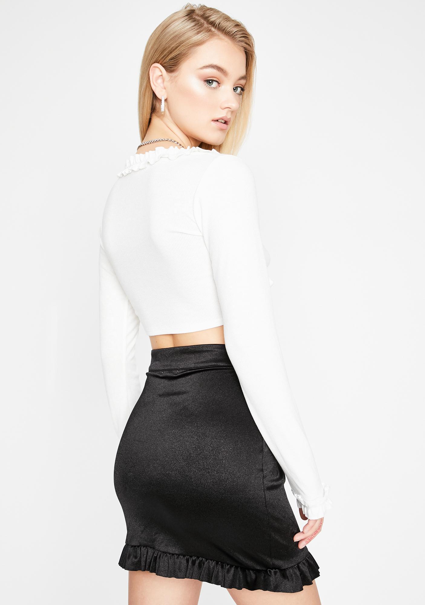 Sugar Thrillz Lessons In Love Mini Skirt