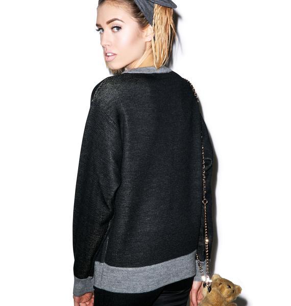 Joyrich Royal Bear Knit Sweater