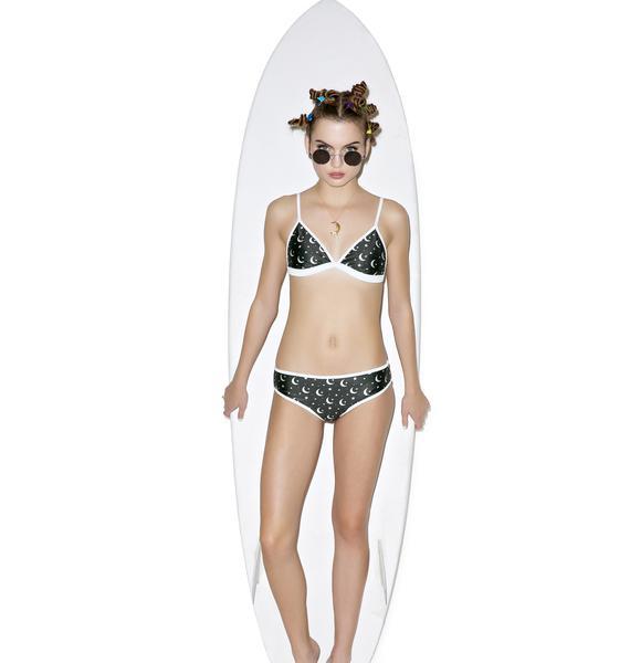 Wildfox Couture Moon & Star Bikini Bottoms