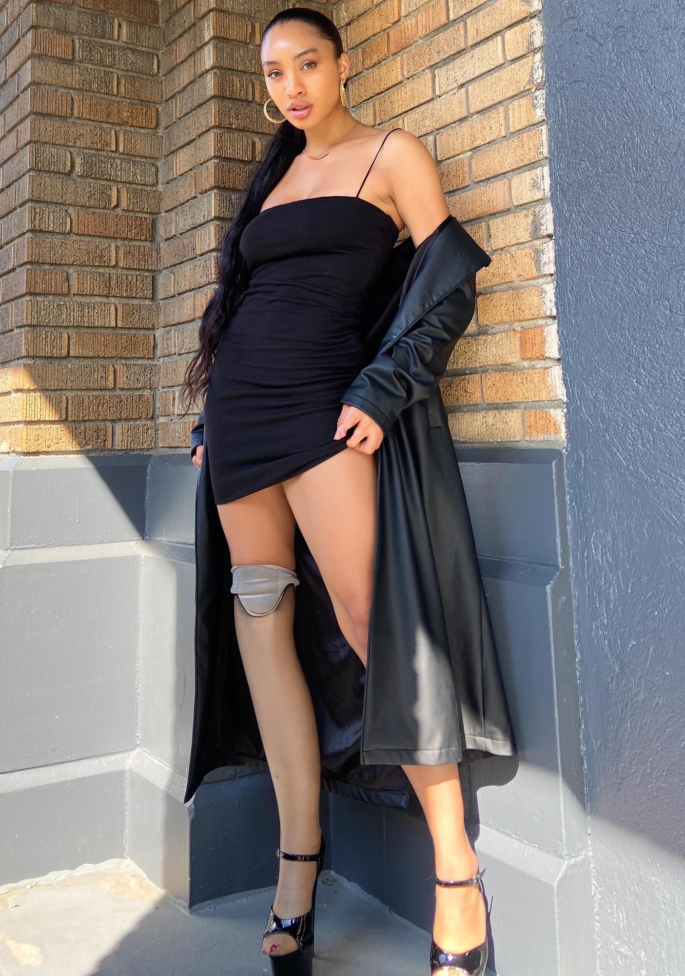 Dishonest Intentions Mini Dress