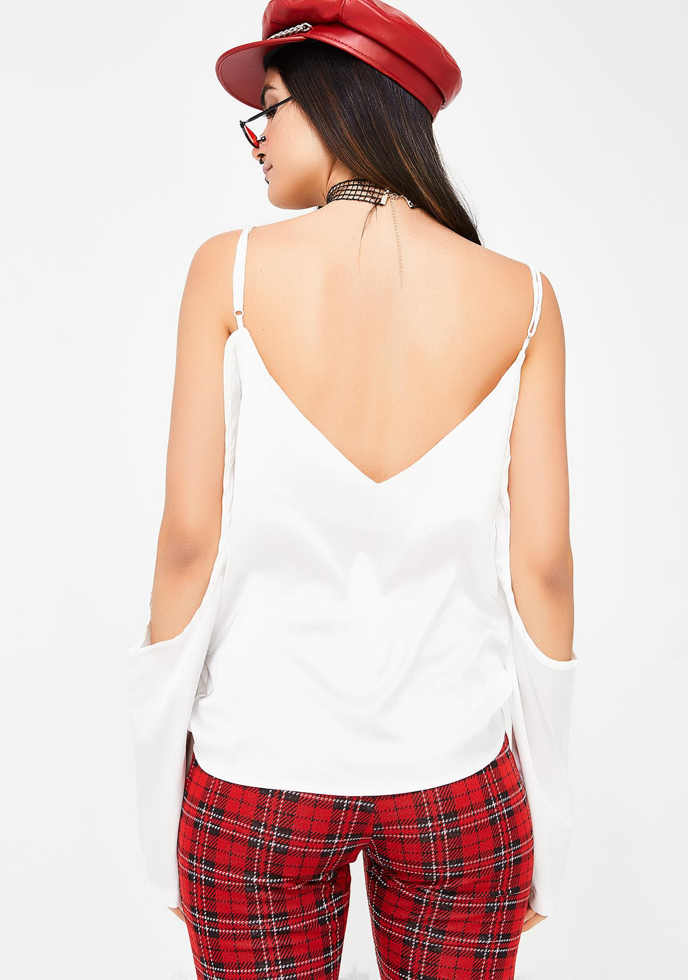 Pure Skies Off The Shoulder Blouse