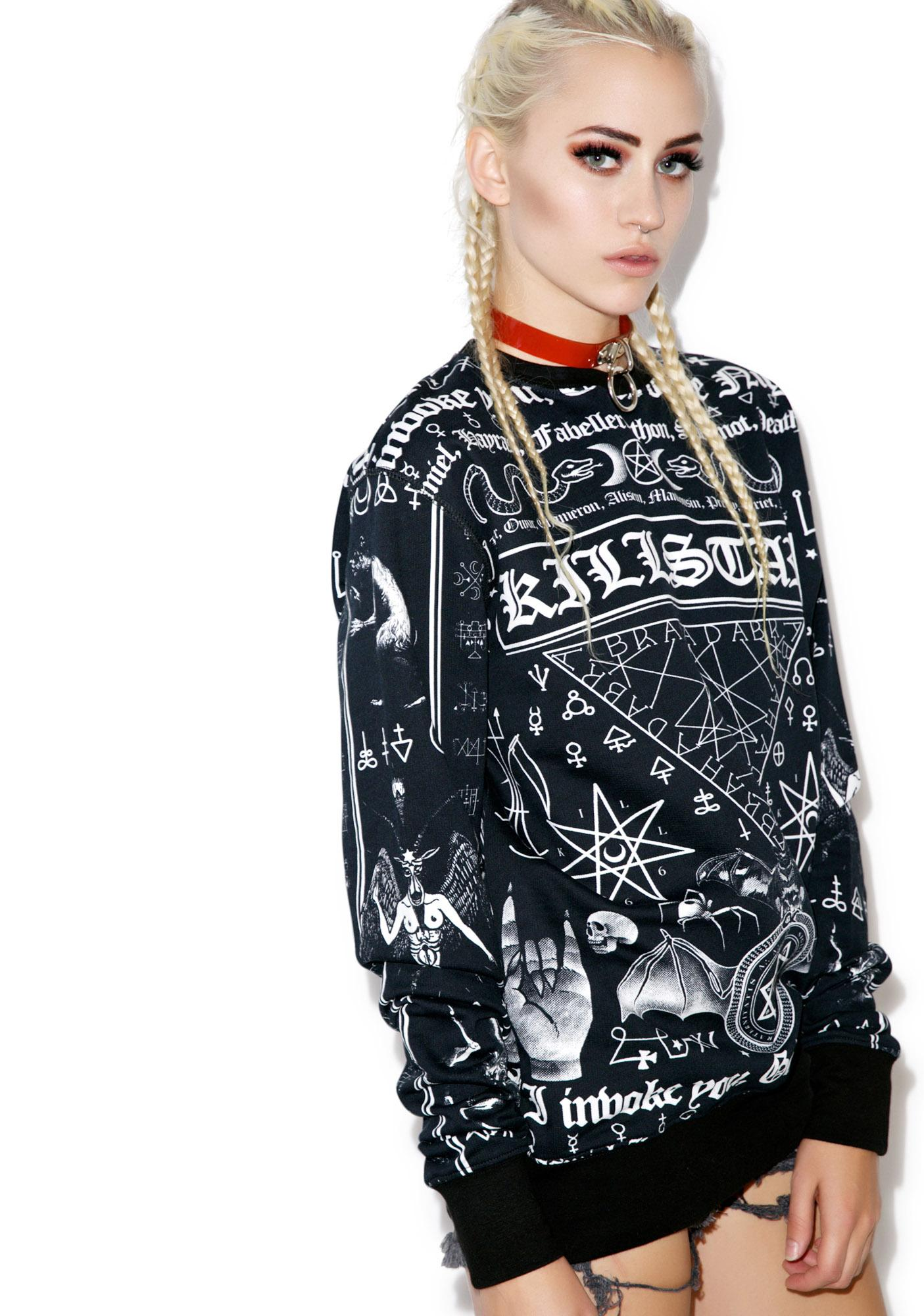 Killstar Spell Sweatshirt