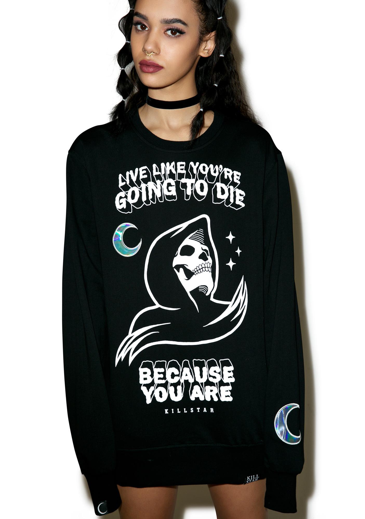 Killstar Certain Death Sweatshirt