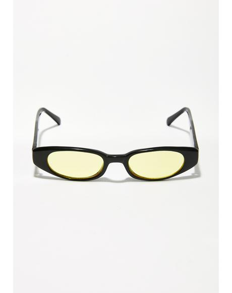Sunny Lulu Retro Sunglasses
