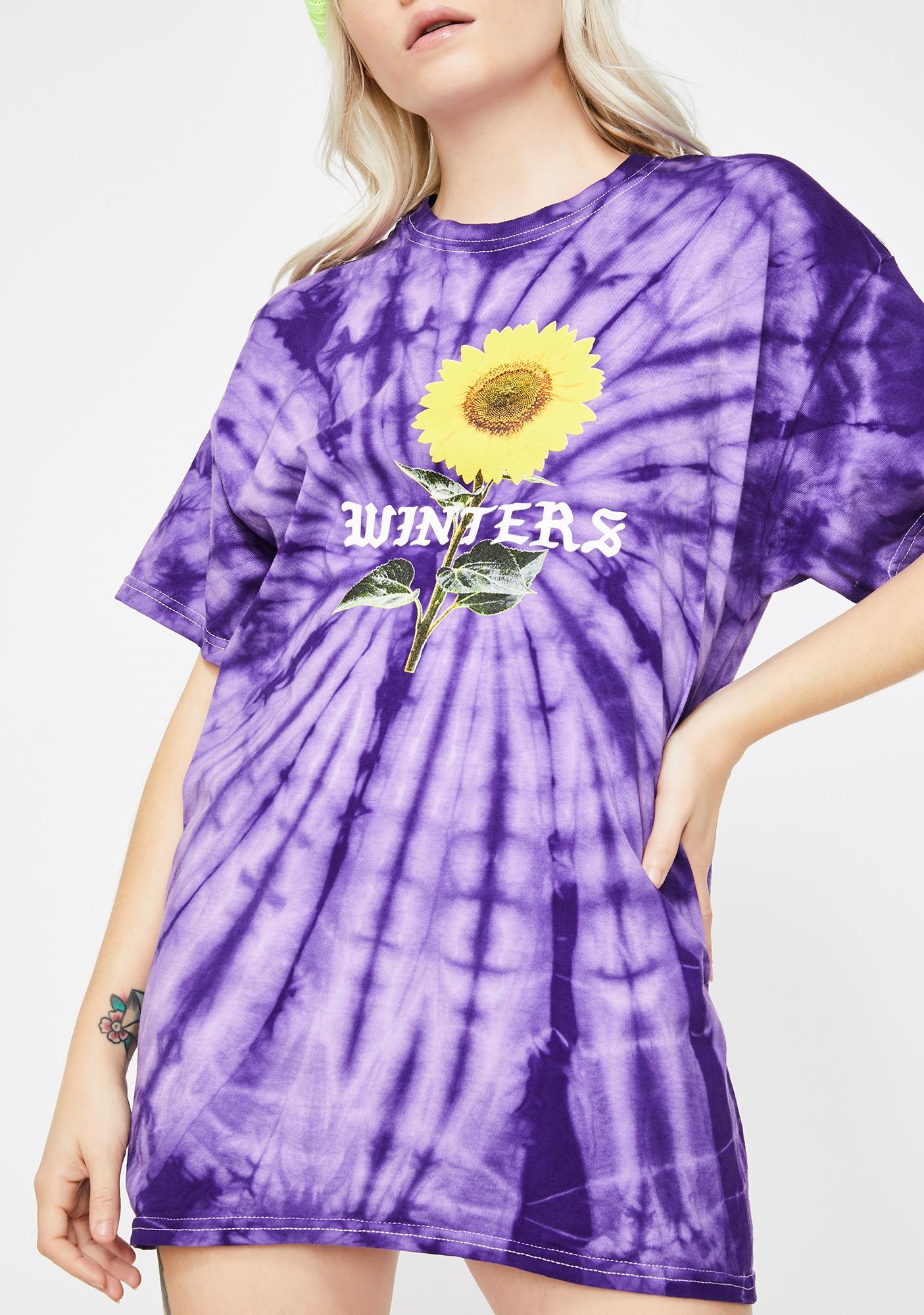 Winters Shine Tie Dye Tee