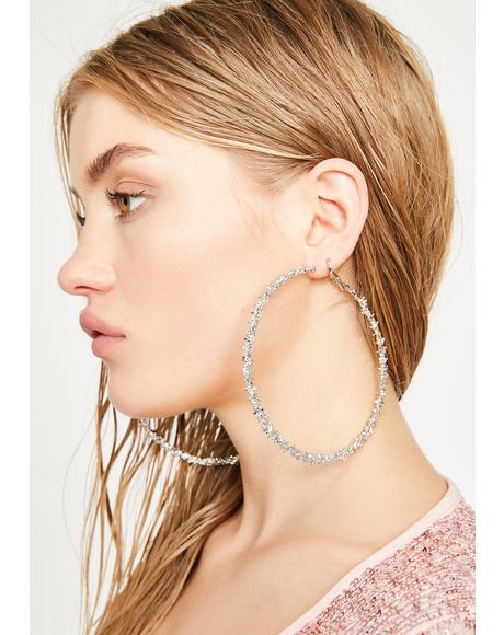 Barbed Bish Hoop Earrings