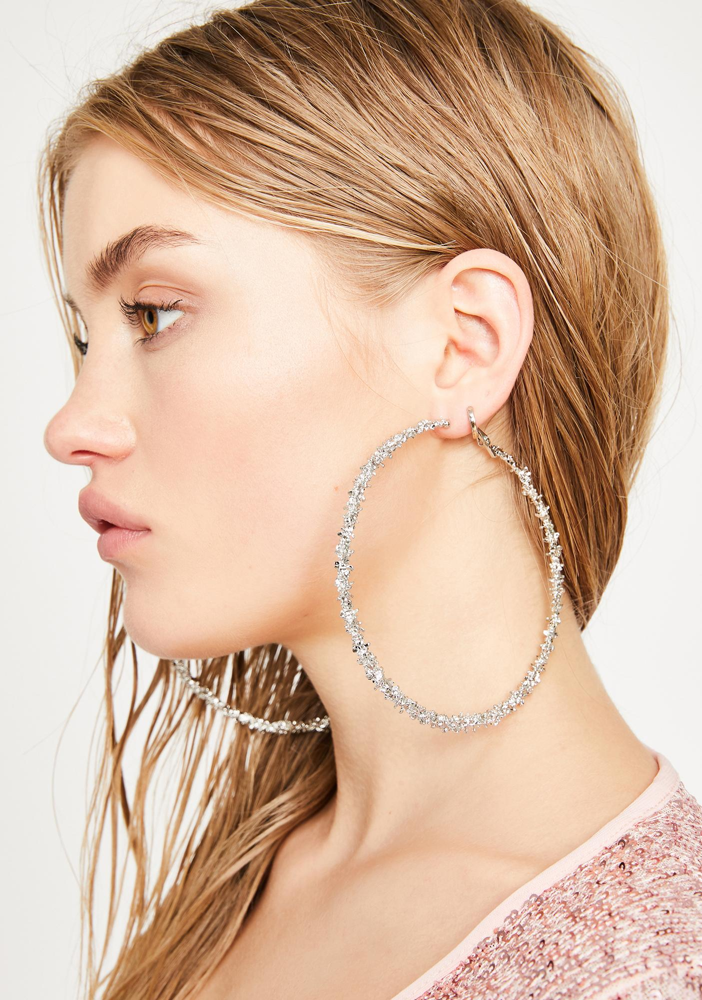 Barbed Bish Hoop Earrings