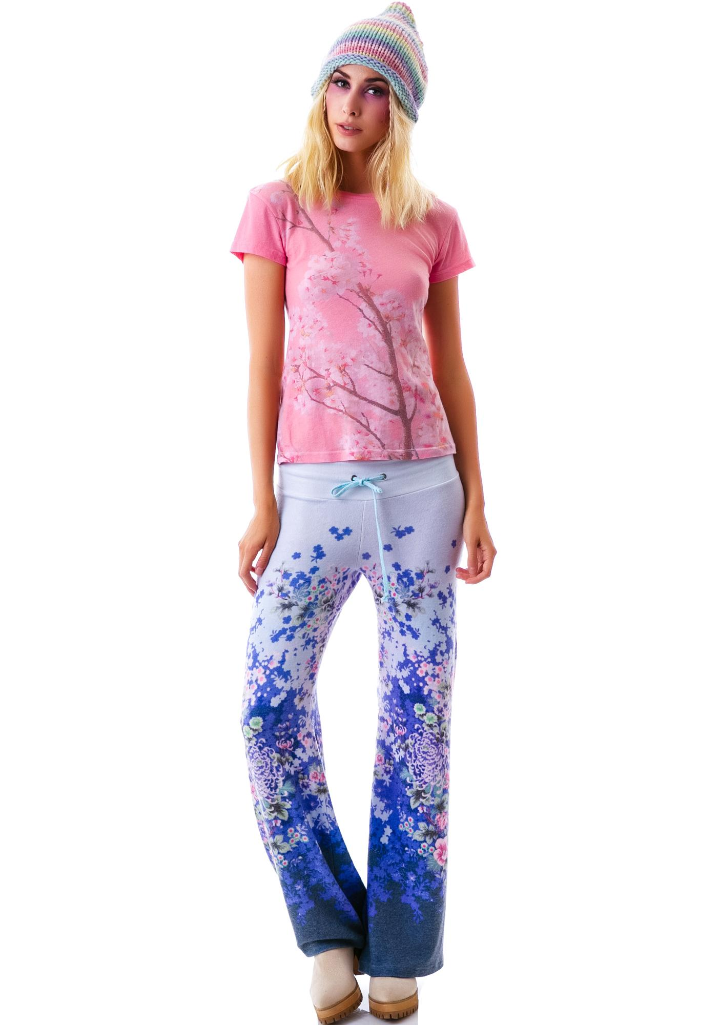 Wildfox Couture Cherry Blossom Tourist Crew
