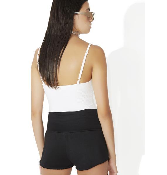 Morningside Lace-Up Shorts