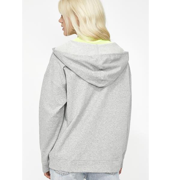 On The Rise V-Neck Hoodie