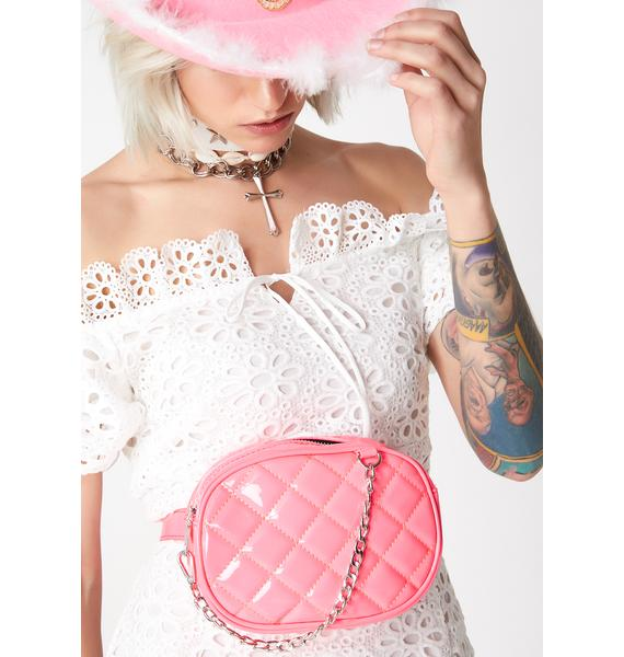 Candy High Class Quilted Fanny Pack