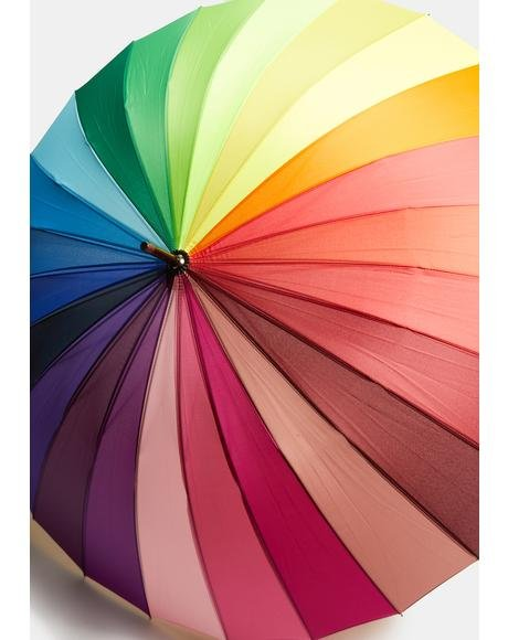 Rainbow Shine Umbrella