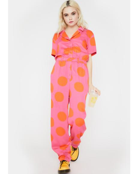 Daytrip Polka Dot Jumpsuit