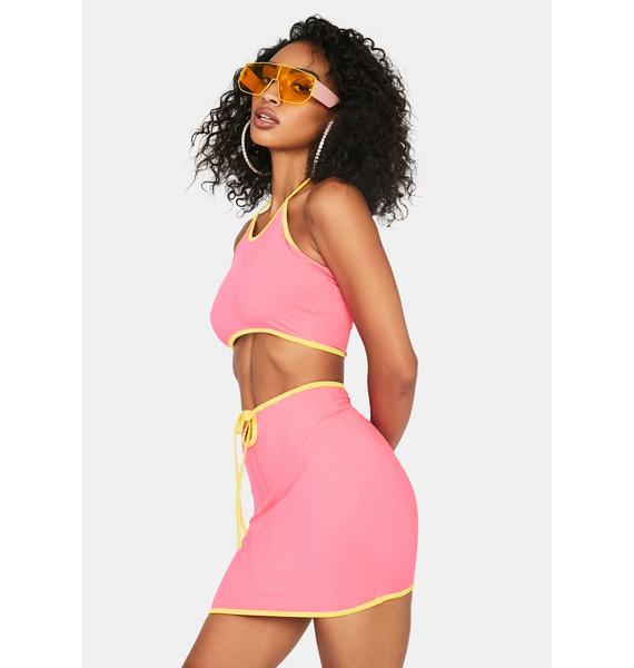 Lady You've Got Game Mini Skirt Set
