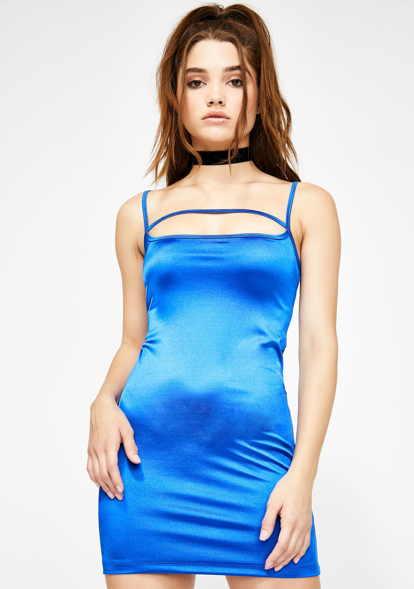 Motel Selest Satin Dress
