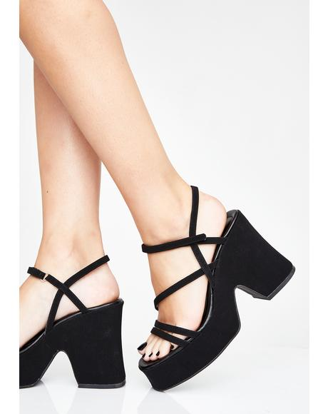 Whatz Up Buttercup Platform Sandals