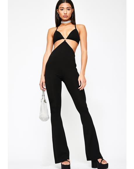 Sass Class Cut Out Jumpsuit