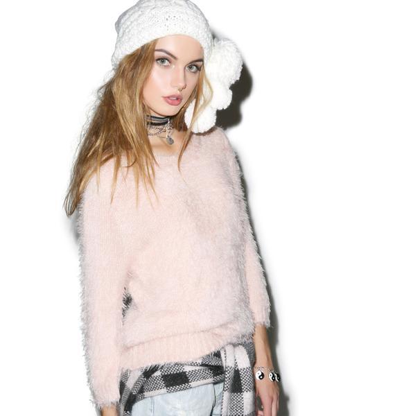 For Love & Lemons Ski Bunny Sweater