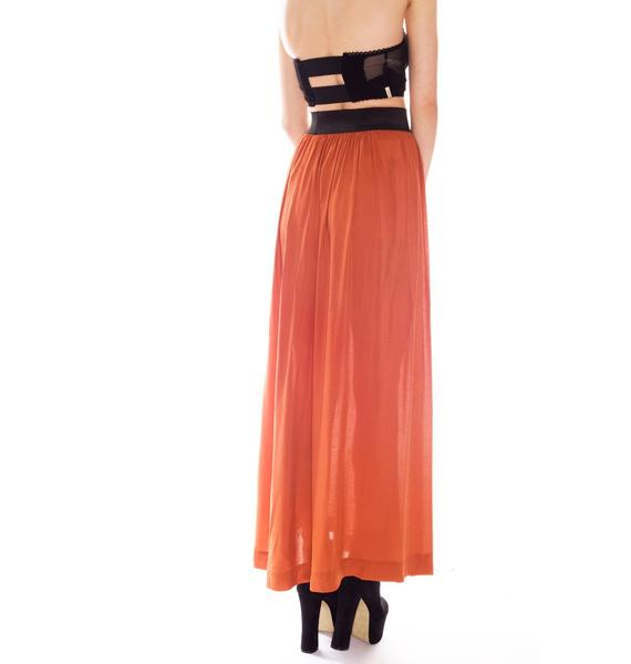 One Teaspoon Montgomery Maxi Skirt