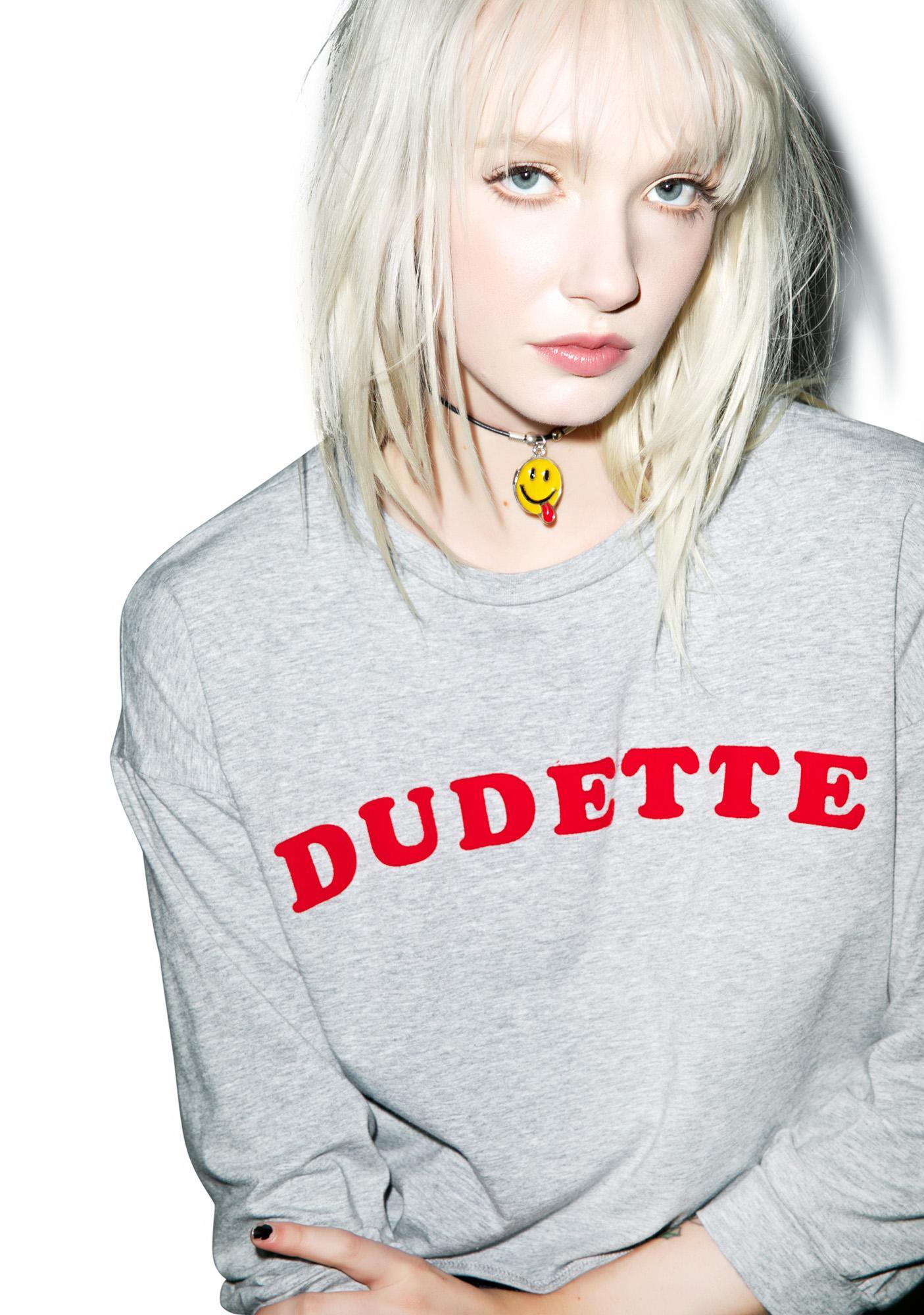 Valfré Dudette Crop Sweatshirt