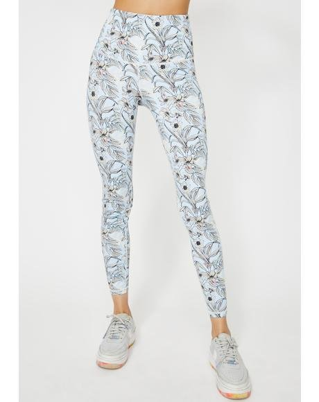 Growing Energy Floral Leggings