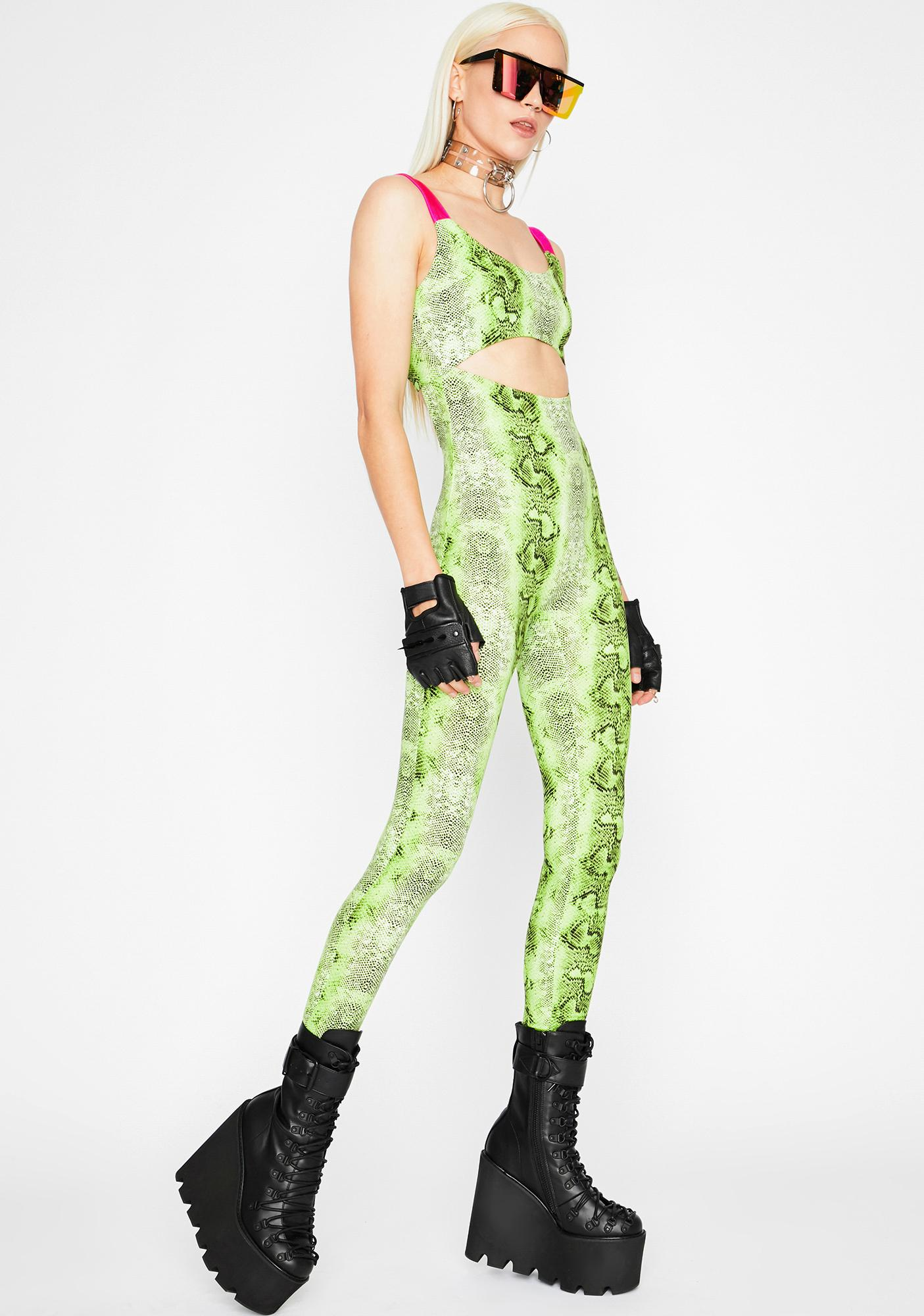 Sweet Poison Cut Out Catsuit