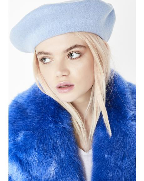 Enchanting Aesthetic Wool Beret