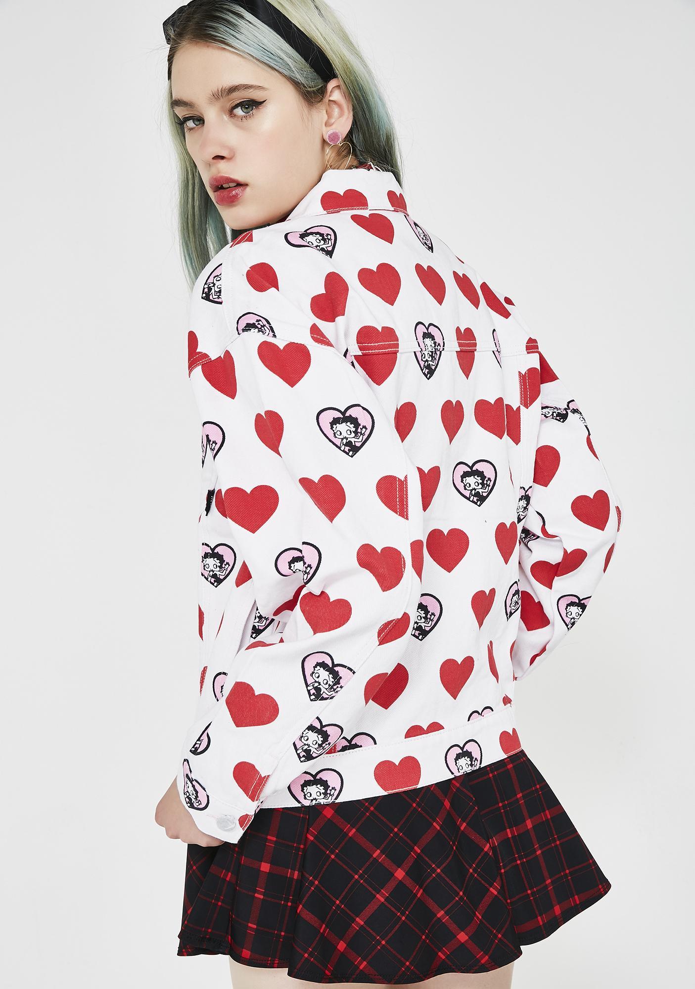 Lazy Oaf Betty Boop Heart Jacket