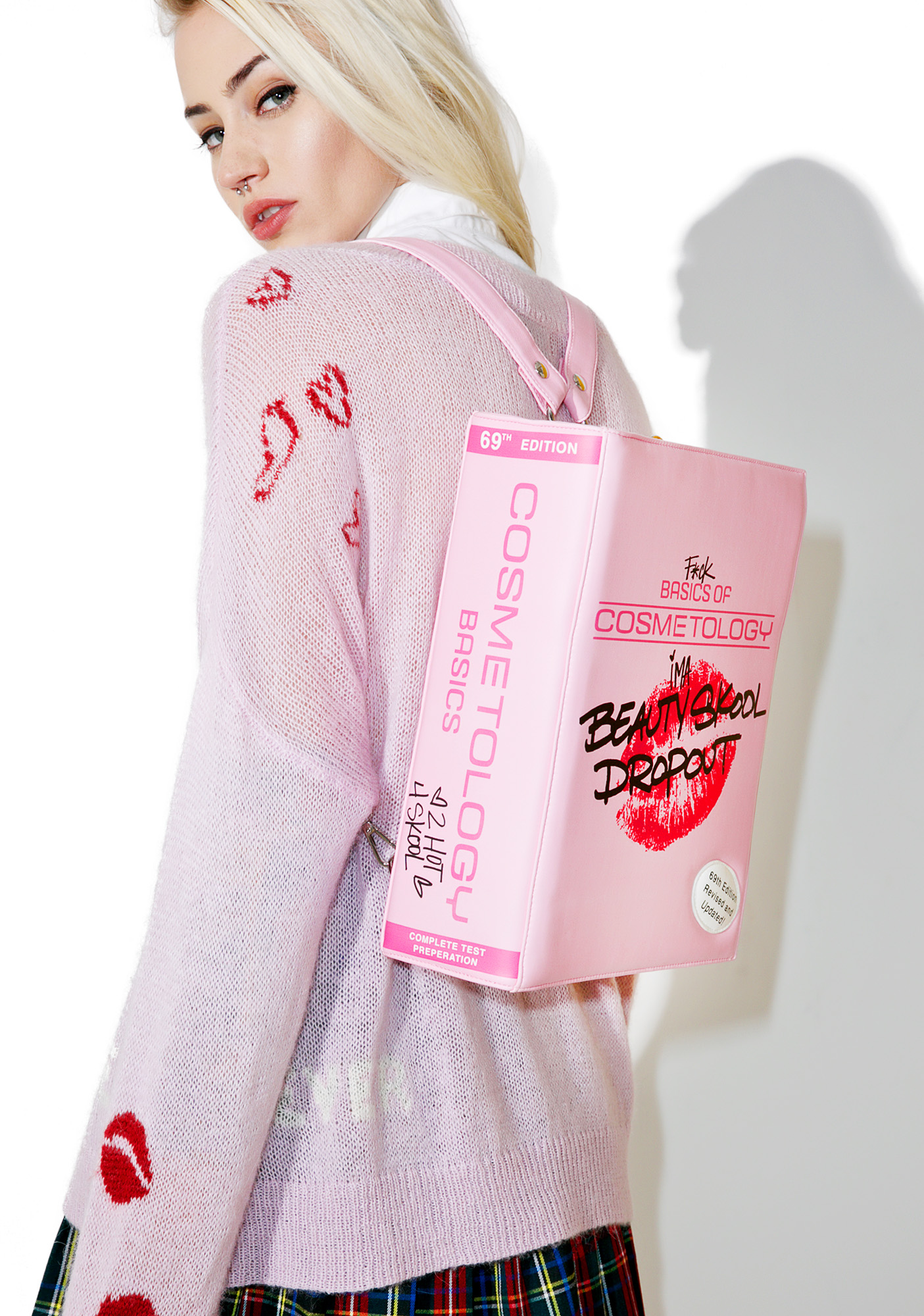 Pink Beauty School Dropout Convertible Bag