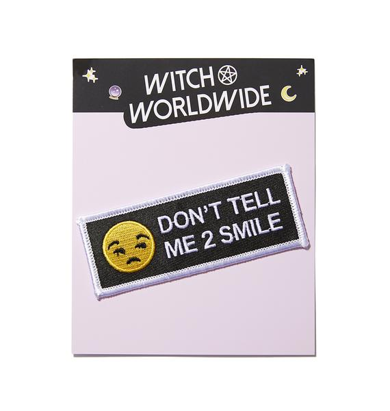 Witch Worldwide Don't Tell Me Patch