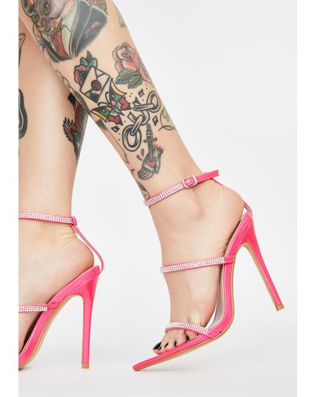 Baby Buy Me Thingz Rhinestone Heels