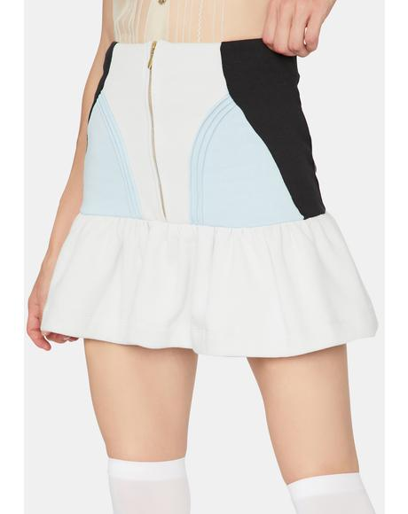 The Powder Blue Heather Skirt