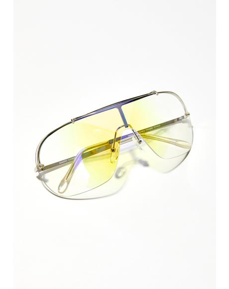 Bee Prismatic Ecstasy Iridescent Glasses