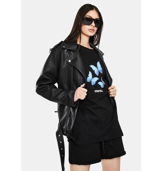 THE KRIPT Livia Butterfly Graphic Tee