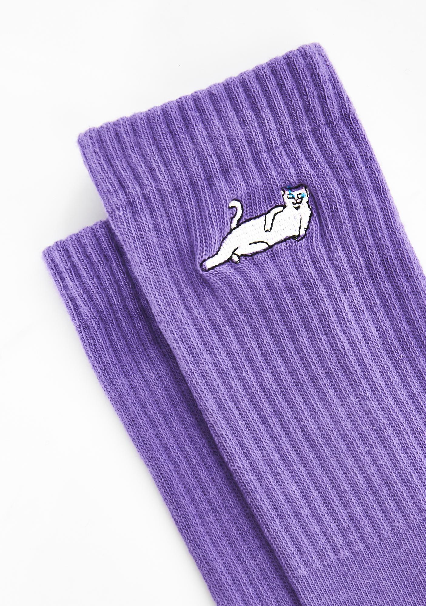 RIPNDIP Lavender Castanza Socks